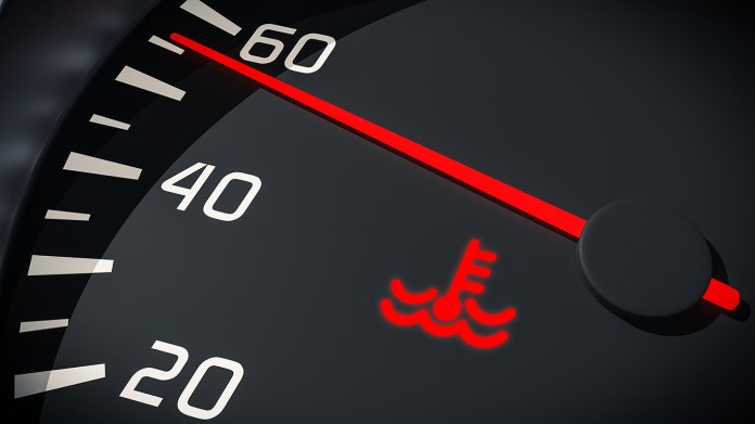 Engine Temperature Warning Light