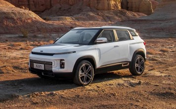 Geely Icon electric SUV