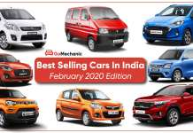 Best Selling Cars In India | February 2020