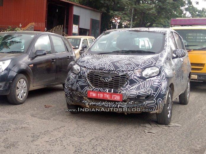 Datsun Redi-GO Spied | Picture Credits: Indianautosblog