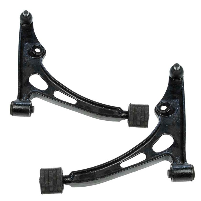Traling control arms