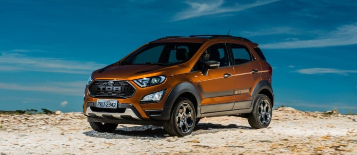 Ford Ecosport sales drop by Half in February 2020