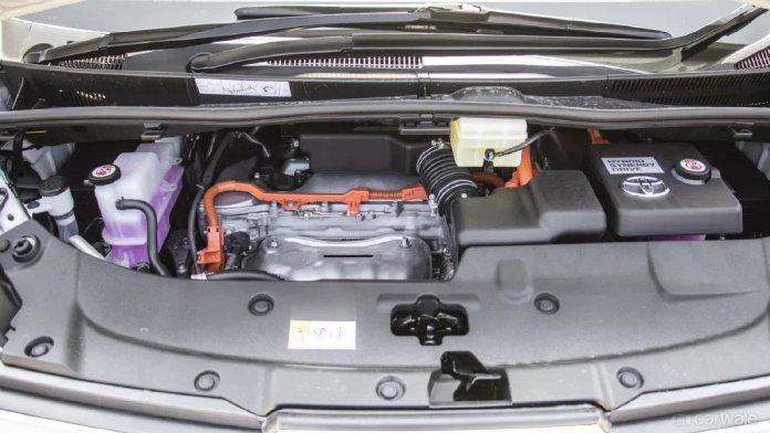 Toyota Vellfire Hybrid Engine
