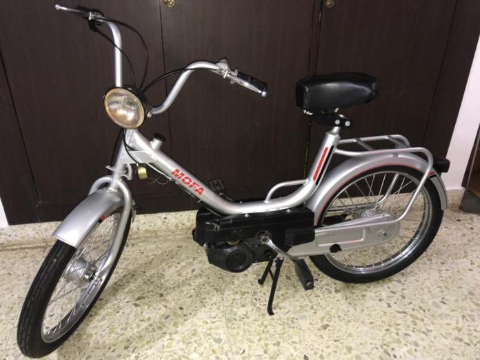 Royal Enfield Mofa   Forgotten Bikes In India