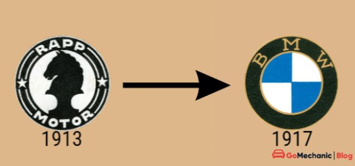 Rapp Motors To BMW | The First BMW Logo Change