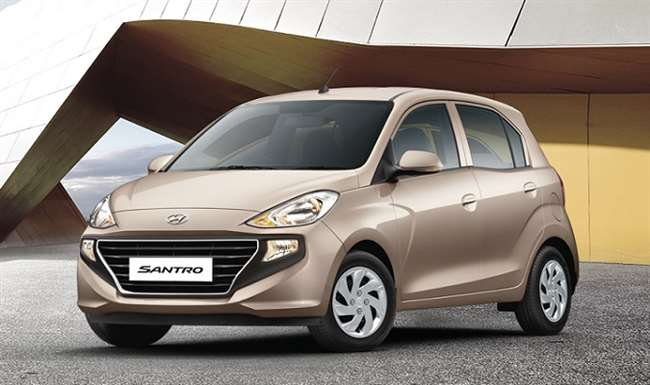 BS6 Hyundai Santro launched in India @ ₹ 4.57 Lakh
