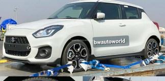 Maruti Suzuki Swift Sport spied Undisguised in India- Here It is | Credits- RUSHLANE