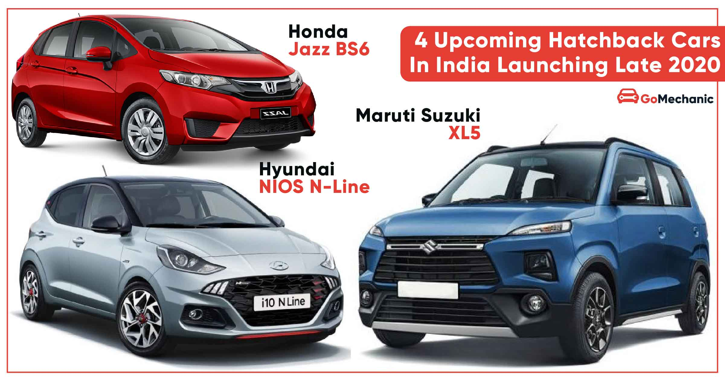 4 Upcoming Hatchback Cars In India Launching Late 2020