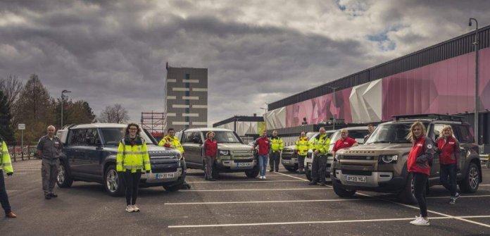 Coronavirus- Land Rover deploys over 100 Defender SUV towards Medical-Aid