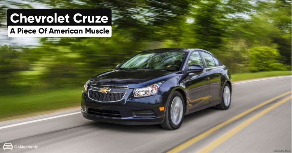 Chevrolet Cruze | A Piece of American Muscle