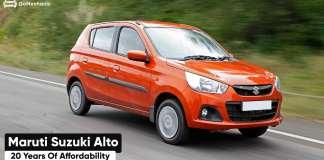 Maruti Suzuki Alto | 20 years of Affordability