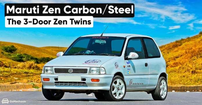 Maruti Zen Carbon/Steel   The 3-Door Zen Twins