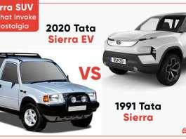 Tata Sierra SUV- 10 things that invoke NOSTALGIA