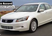 The Honda Accord An Evolution of Luxury