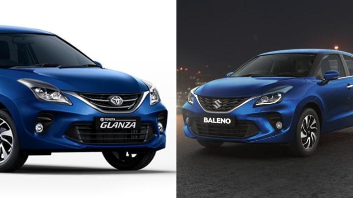 Toyota Glanza and Maruti Suzuki Baleno