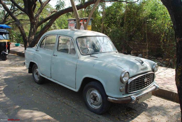 Hindustan Ambassador Mark II | Image Courtesy: Team BHP