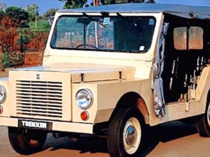 HM Trekker   Rare cars in India