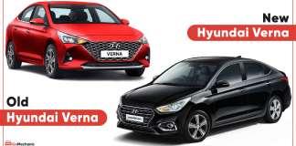 Old vs New Hyundai Verna