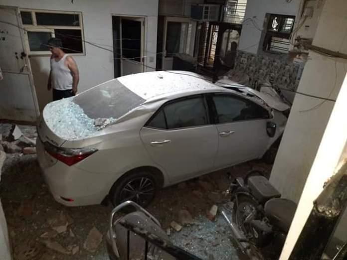 Faridabad Altis Accident