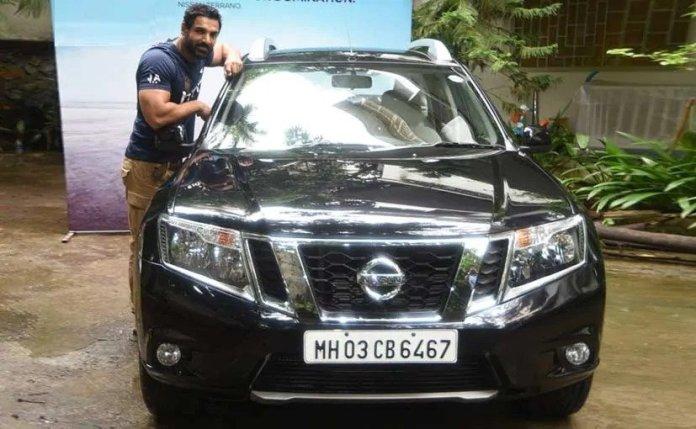 John Abraham Terrano | Bollywood Celebrities and their modest cars