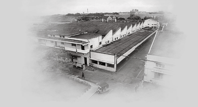 Factory at Tiruvottiyur, near Madras