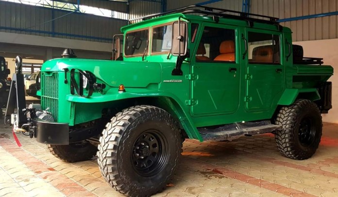 Jonga | A Nissan Patrol made for the Indian Army