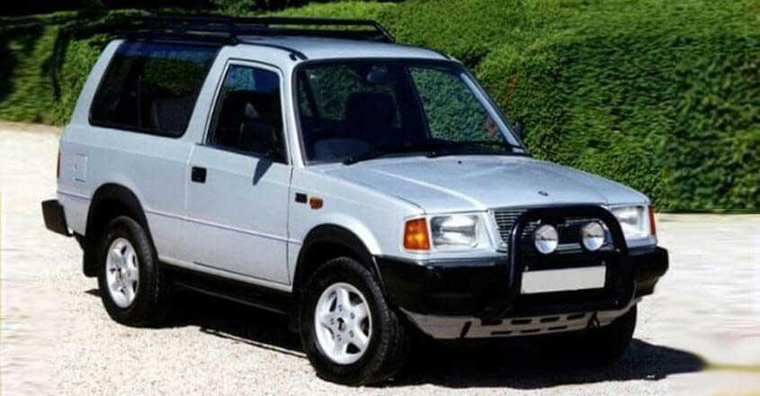 Tata Sierra: Top Forgotten SUVs India