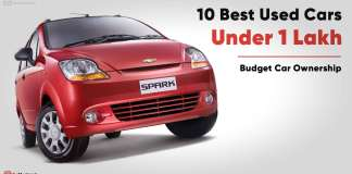 10 Best Used Second Hand Cars under 1 Lakh Budget