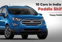 10 Cars in India with Paddle Shifters