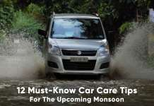 12 monsoon car care tips