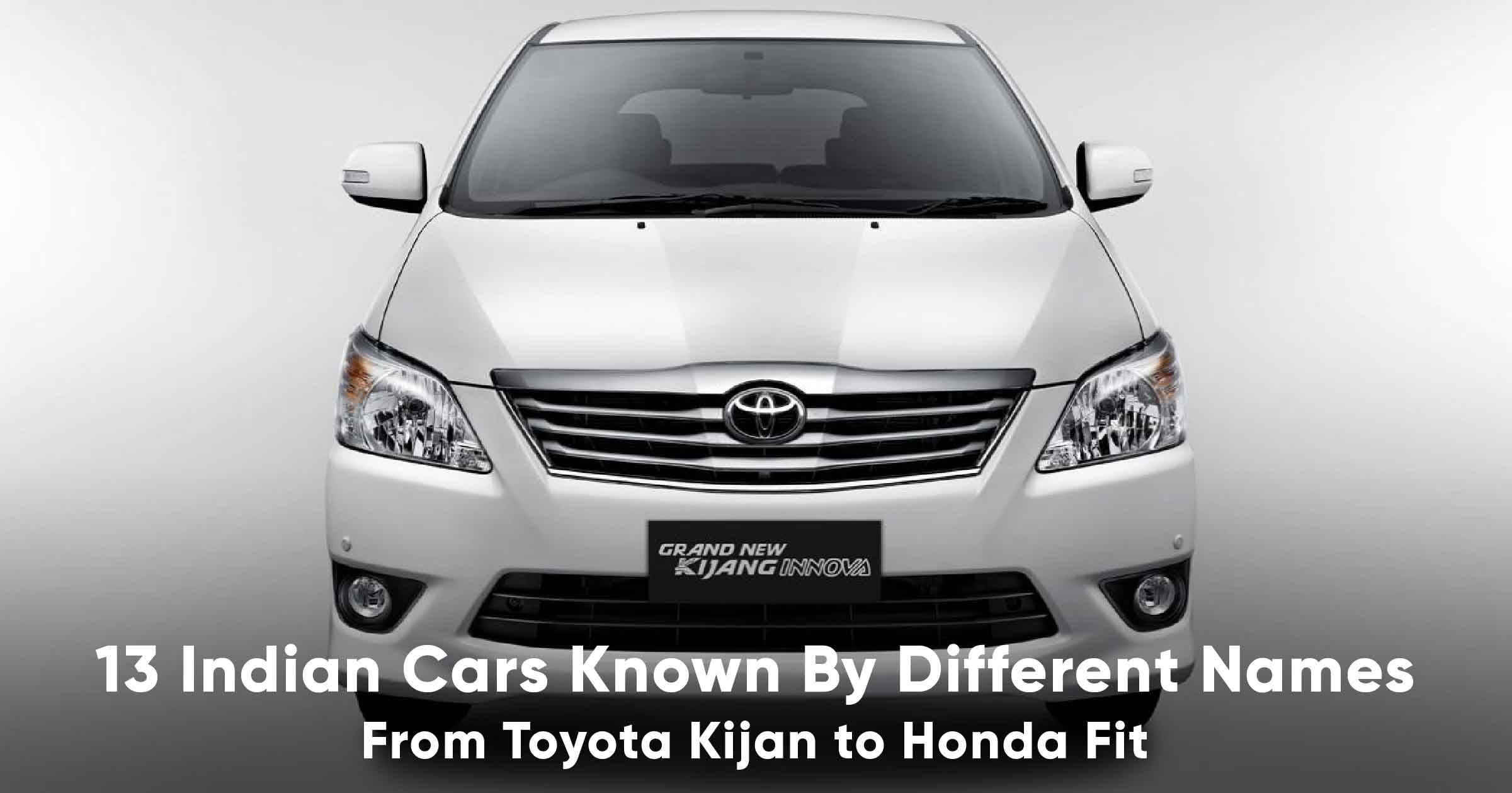 13 Cars In India Which Are Known By Different Names Globally