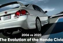 2006 Honda Civic vs 2020 Honda Civic