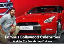 Bollywood Celebrities and the Car Brands Endorsements