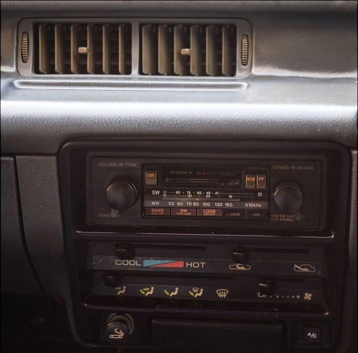 Cassette Player In Old Maruti