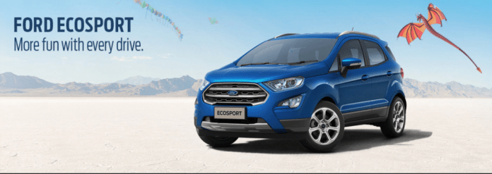 Ford Ecosport: Cars with Paddle Shifters