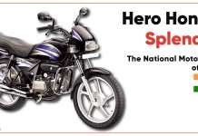 Hero Honda Splendor | The National Motorcycle of India