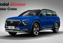 Hyundai Alcazar 7-Seater Creta