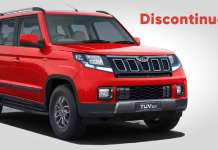 Mahindra TUV300 Removed from Official Website