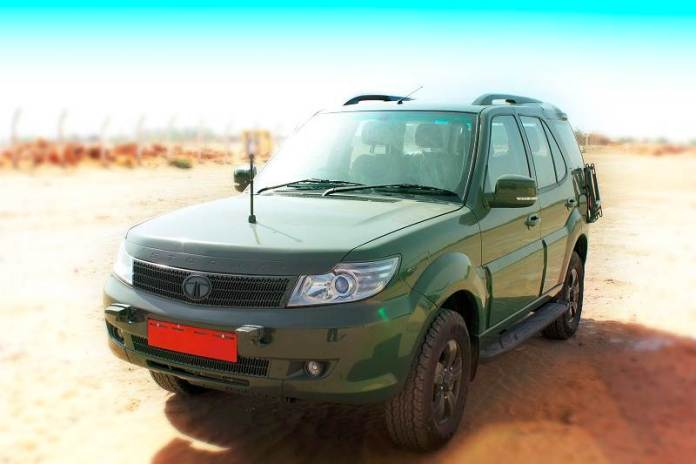 Indian Army Vehicles   Tata Safari Storme