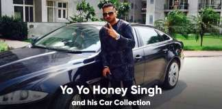 Yo Yo Honey Singh Car Collection