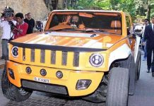 Hummer | Gurmeet Ram Raheem & his car collection