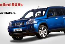 10 failed SUVs from big car manufacturers
