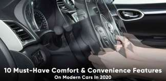10 must have comfort features on modern cars in 2020
