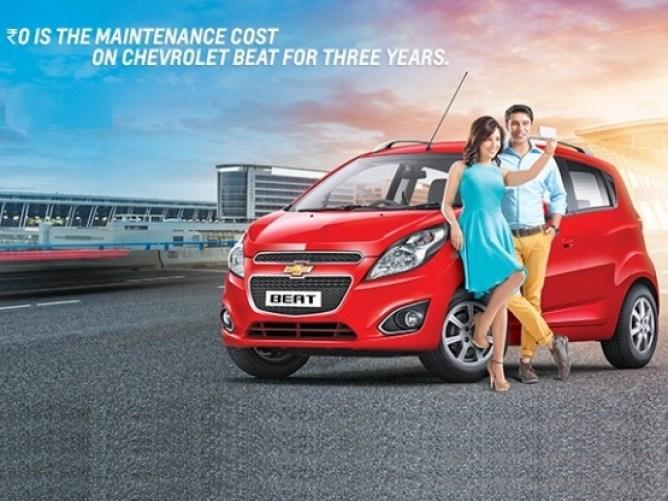 Chevrolet Beat Advertisement