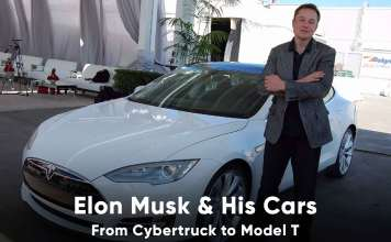 Elon Musk Car Collection