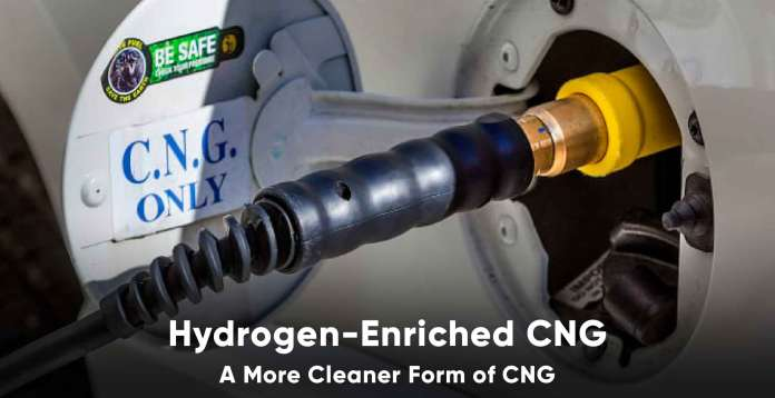 Hydrogen enriched cng in india