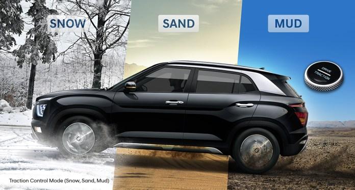 Hyundai Creta TCS Modes | Different Terrain Modes