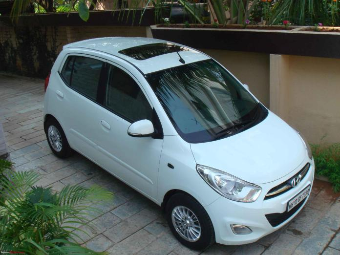 Hyundai i10 Sunroof