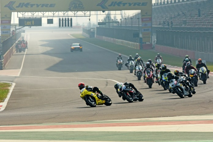 JK Tyre NRC at the Buddha International Circuit