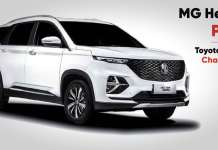 MG Hector plus vs Toyota Innova